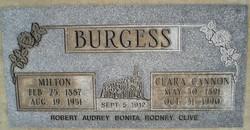 Clara Cannon Burgess