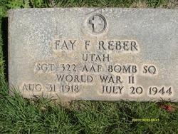 SGT Fay Franklin Reber