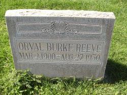 Orval Burke Reeve