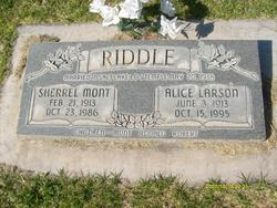 Sherrel Mont Riddle