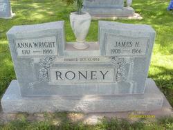 Anna Melva <I>Wright</I> Roney