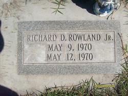 Richard Douglas Rowland, Jr