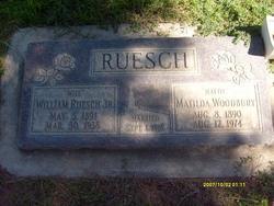 "Matilda ""Mattie"" <I>Woodbury</I> Ruesch"