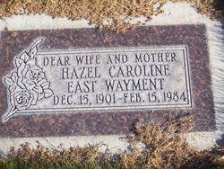 Hazel Caroline <I>East</I> Wayment