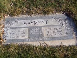 Mae <I>Melle</I> Wayment