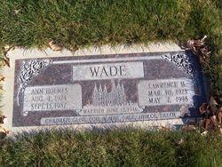 Lawrence H Wade