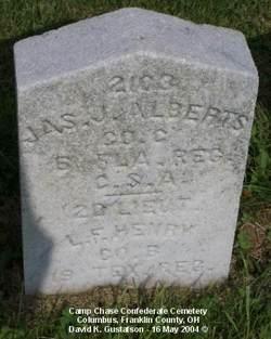 Pvt James J. Alberts