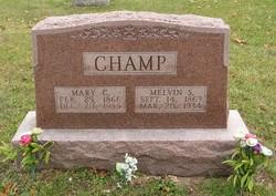 Melvin S Champ