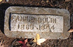 Fannie Plumb <I>Rose</I> Bolin