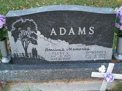 Dorothy I <I>Meckelburg</I> Adams