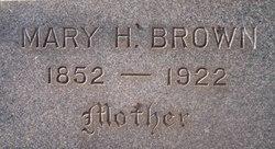 Mary Helen <I>Hendricks</I> Brown