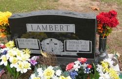 SFC Donald L Lambert