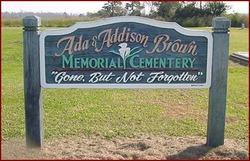Ada & Addison Brown Memorial Cemetery