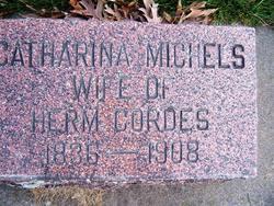 Catharina <I>Michels</I> Cordes