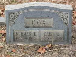 Daisy Elizabeth <I>Cobb</I> Cox