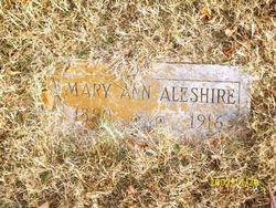 """Mary Ann """"Polly"""" <I>McDaniel</I> Aleshire"""