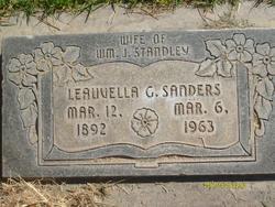 Leauvella Maude <I>Goodie</I> Sanders