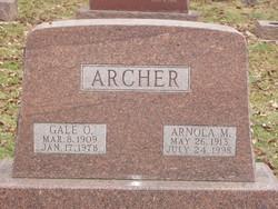 Arnola Maria <I>McCart</I> Archer