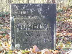 Sophrona <I>Burt</I> Adams