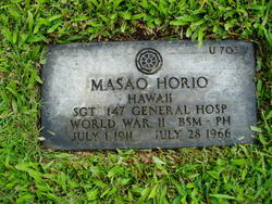 Masao Horio