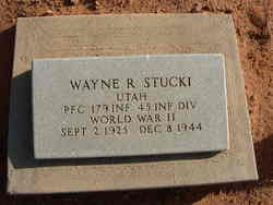 Wayne Rulon Stucki