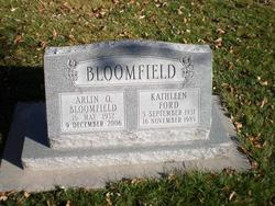Kathleen <I>Ford</I> Bloomfield