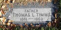 Thomas Latimer Timms