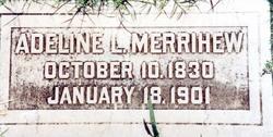 Adeline Lavina <I>Whipple</I> Merrihew