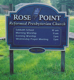 Rose Point Reformed Presbyterian Church Cemetery