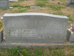 Maxie  A. <I>Williams</I> Ayers