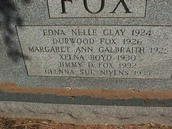 Mary Electra <I>Gose</I> Fox