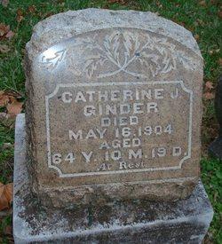 Catherine J Ginder