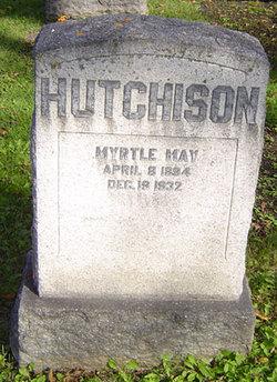 Myrtle May <I>Dicks</I> Hutchison