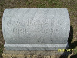 Martha Ann <I>Walters</I> Herrington