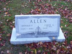 Donald F Allen