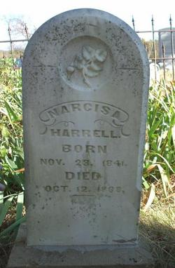 Narcissa Ellen <I>Poindexter</I> Harrell