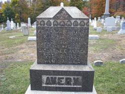 Catherine E <I>Warner</I> Avery
