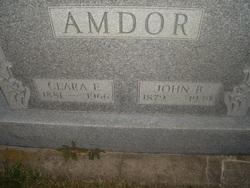 Clara E. <I>Bidner</I> Amdor