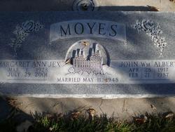 John William Albert Moyes