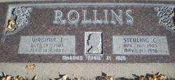 Virginia Mae <I>Tingey</I> Rollins