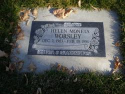 Helen Moneta <I>Porter</I> Worsley