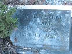 Lillie <I>Ballentine</I> Cleveland