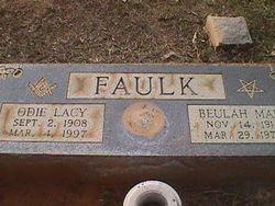 Beulah <I>Sparks</I> Faulk