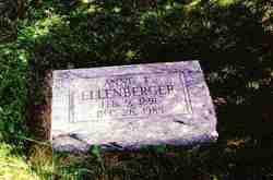 Anne Elizabeth <I>Groshart</I> Ellenberger