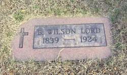 Benjamin Wilson Lord