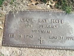 Spec Cecil Ray Hall