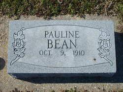 Pauline <I>Cranick</I> Bean