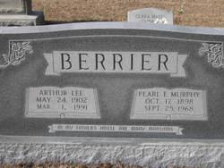 Pearl Estella Jane <I>Murphy</I> Berrier