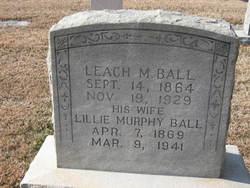 Augusta Lillie <I>Murphy</I> Ball