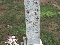 Mattie E. Deal